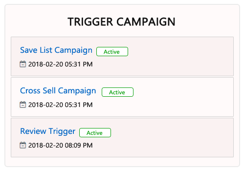 Design Fully Personalized Custom Trigger Campaigns