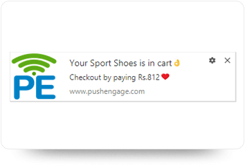 Abandon Cart Notification Image
