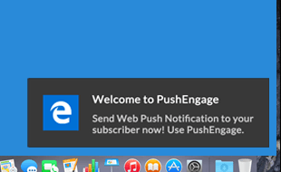 Demo Push Notification On Browser